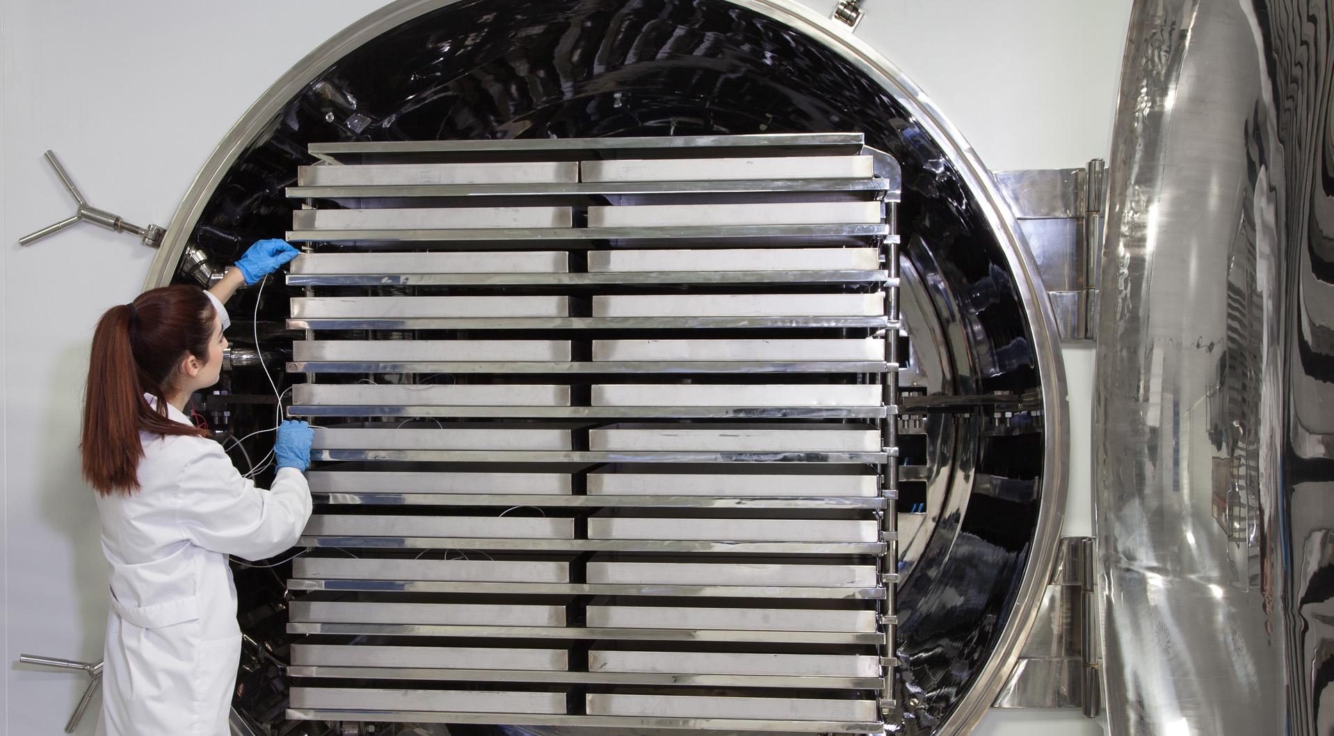 Barnalab liofilización, liofilizador coolvacuum